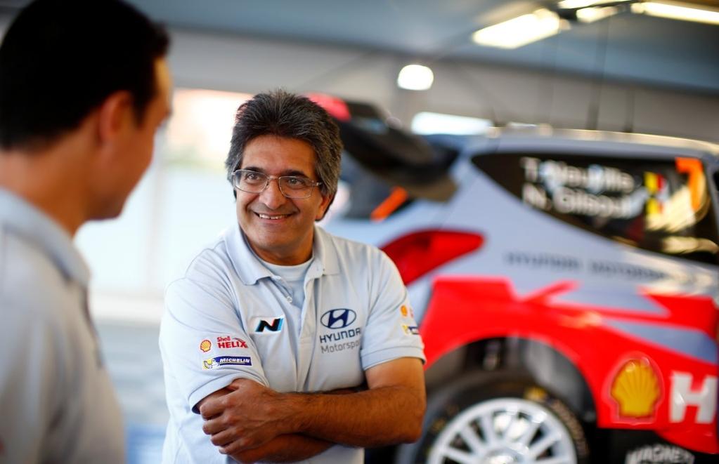 Босс команды Hyundai  Мишель Нандан