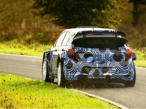 Первый тест i20 WRC 2015 года
