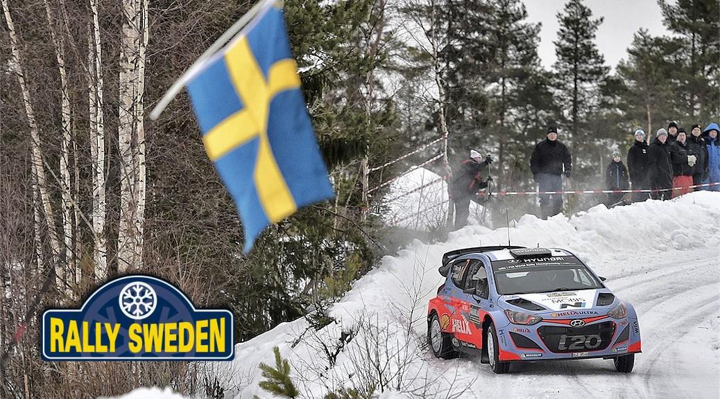 Ралли Швеции 2015 - Тьерри Невилль - Хендэ