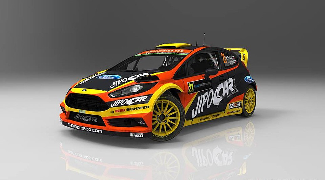Марти Прокоп - Форд - WRC 2016