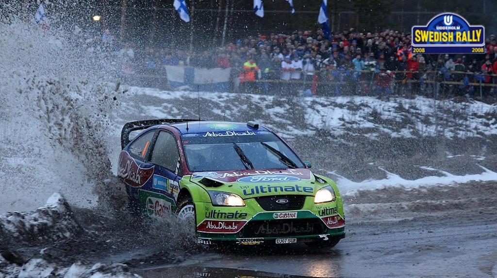 Ралли Швеции 2008 - Яри-Матти Латвала - Форд