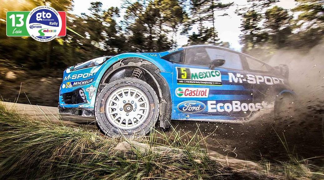 Fiesta RS WRC - тесты к Ралли Мексики 2016