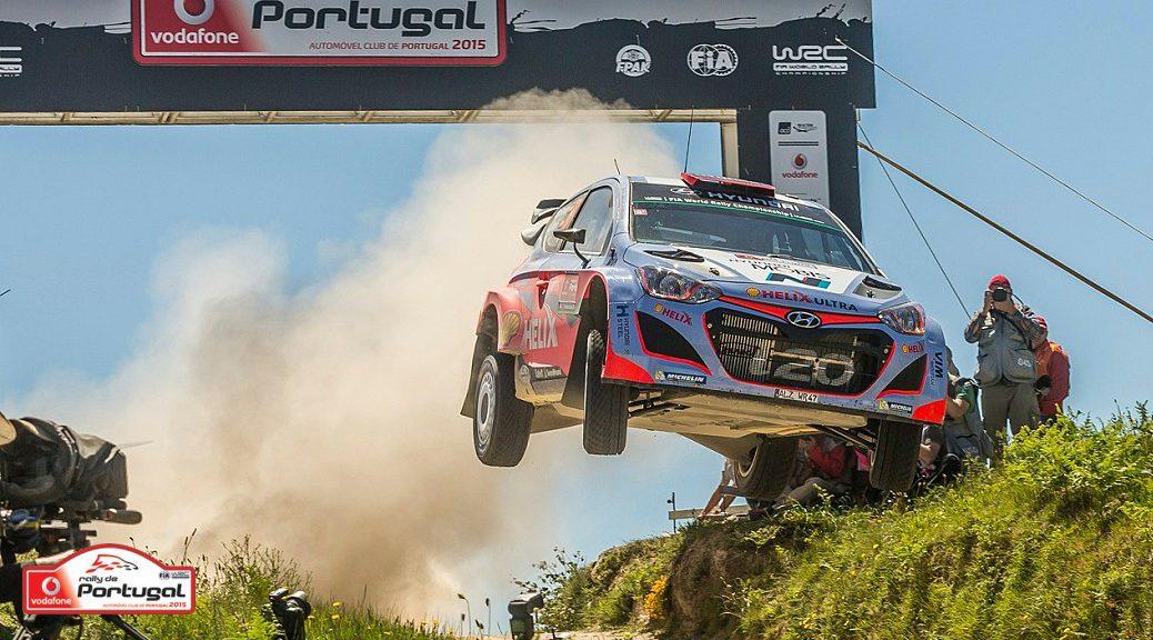 Ралли Португалии 2015 - Дани Сордо - Хендэ