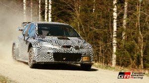 Toyota Yaris WRC - тест в Центральной Финляндии - 2016