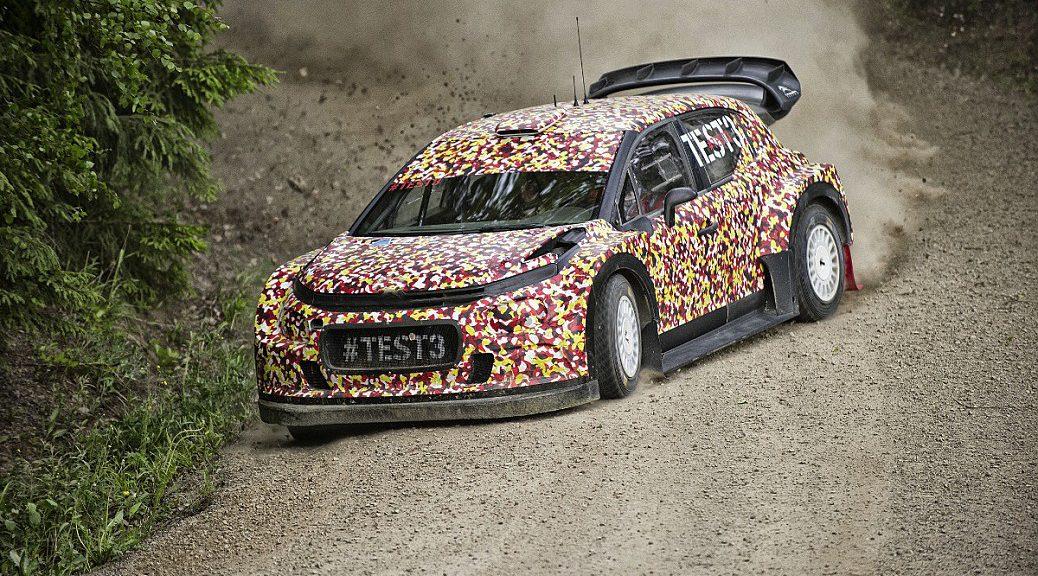 Citroen C3 WRC 2017 - тесты в Финляндии