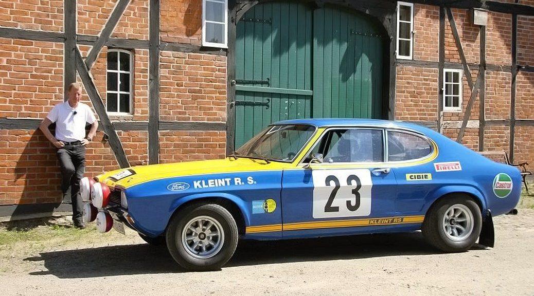 Форд Капри 2600 - 1972 - Вальтер Рёрль