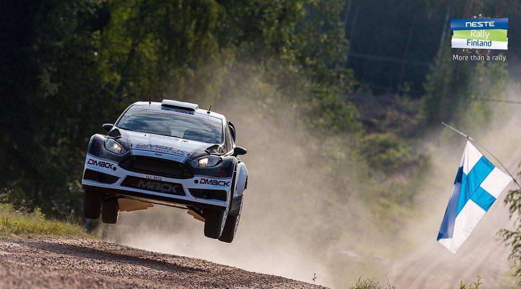 Ралли Финляндии 2016 - Отт Тянак - Форд