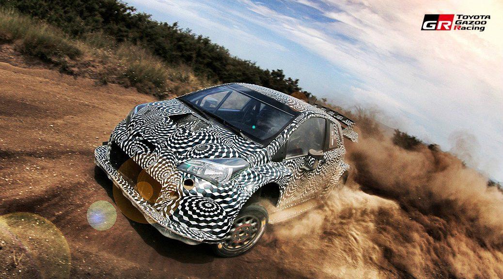 TOYOTA Yaris WRC - тесты