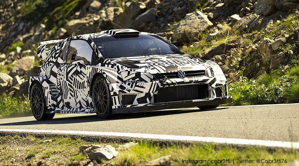 Volkswagen Polo R WRC 2017 - высокогорный тест