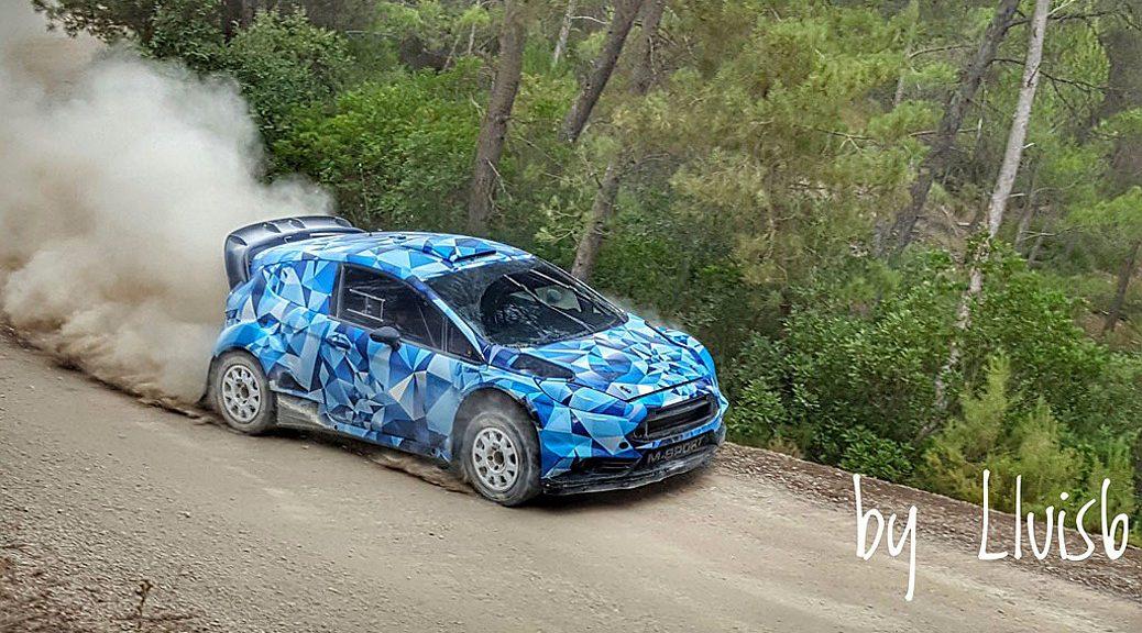 Ford Fiesta WRC 2017 - Эрик Камилли - тесты 2016