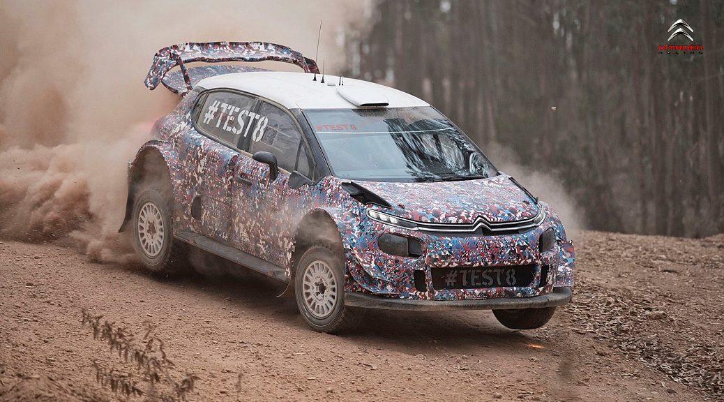 Citroën C3 WRC 2017 - #TEST8