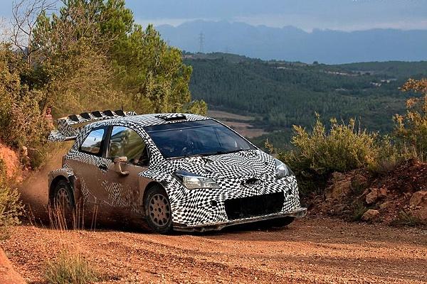 Toyota Yaris WRC - Юхо Ханнинен