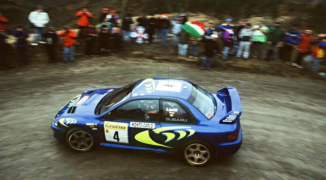 Ралли Монте-Карло 1997 - Пьеро Льятти - Фабриция Понс - Субару