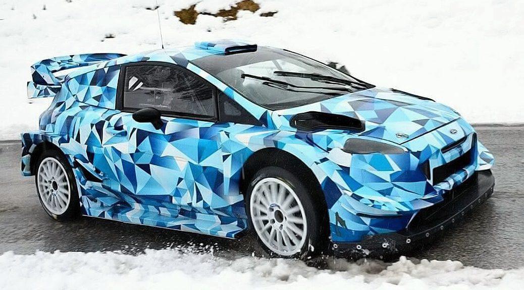 Элфин Эванс - Форд - М-Спорт