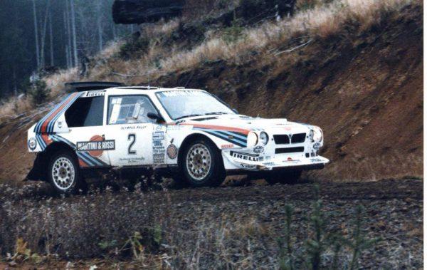 Ралли Олимпус 1986 - Маркку Ален - Лянча