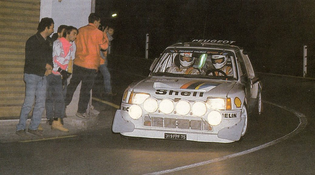Ралли Санремо 1986 - Юха Канллунен - Пежо
