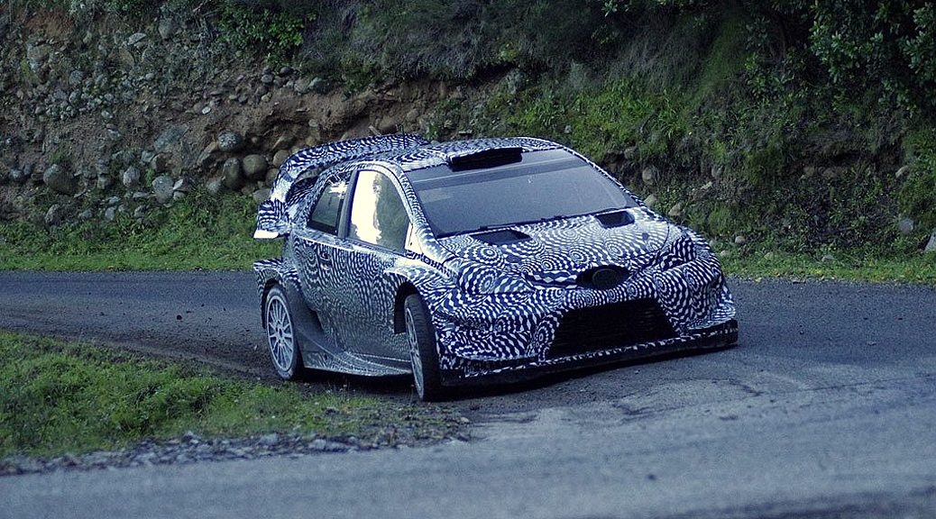 Toyota Yaris WRC - Яри-Матти Латвала - Корсика 2016