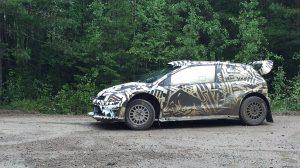 Volkswagen Polo R WRC 2017 - Швеция - ноябрь 2016