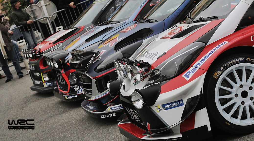 WRC 2017 - Команды
