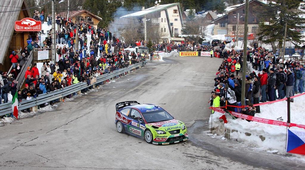 Ралли Монте-Карло 2008 - Микко Хирвонен - Форд