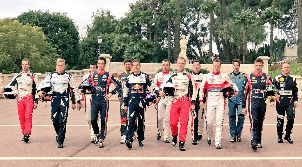 WRC 2017 - Пилоты