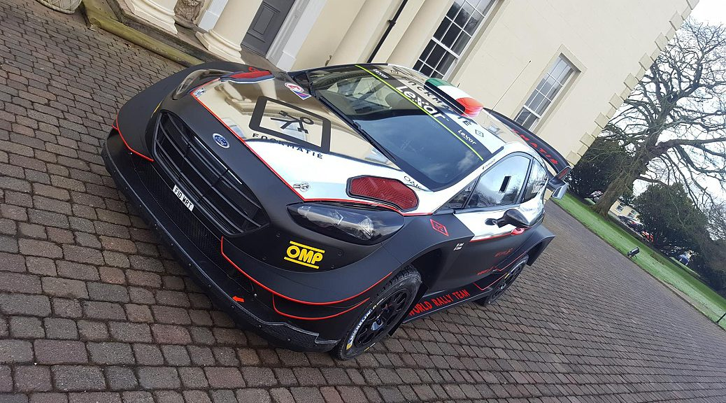 WRC 2017 - Лоренцо Бертелли - M-Спорт