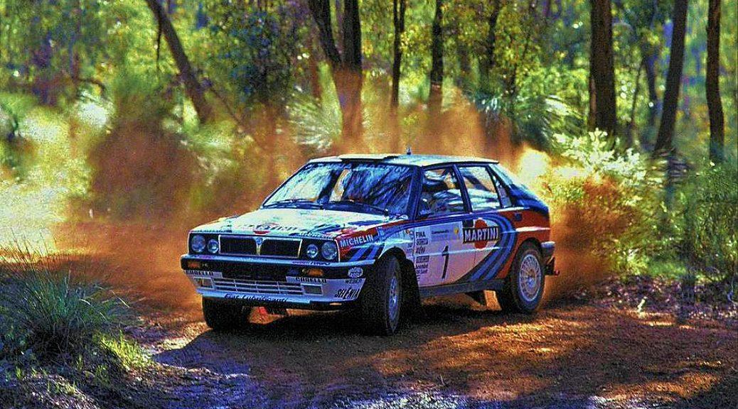 Ралли Австралии 1991 - Юха Канллунен - Лянча