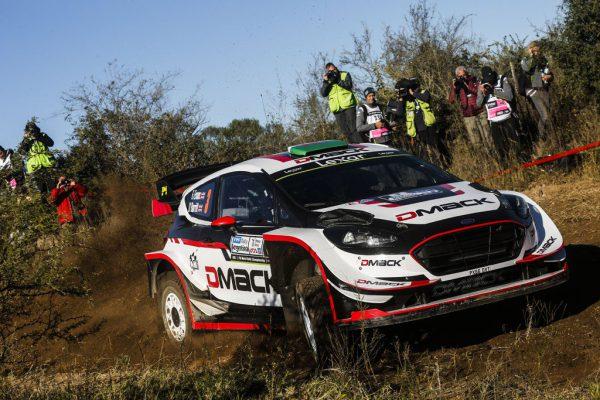 Ралли Аргентины 2017 - Элфин Эванс - Дэниель Барритт - Ford Fiesta WRC - M-Sport WRT