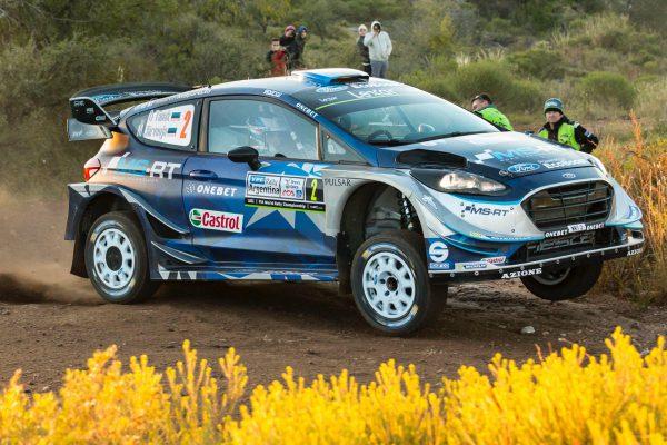 Ралли Аргентины 2017 - Отт Тянак - Мартин Ярвеохa - Ford Fiesta WRC - M-Sport WRT
