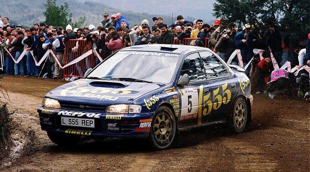 Ралли Португалии 1995 - Карлос Сайнс - Луис Мойя - Субару