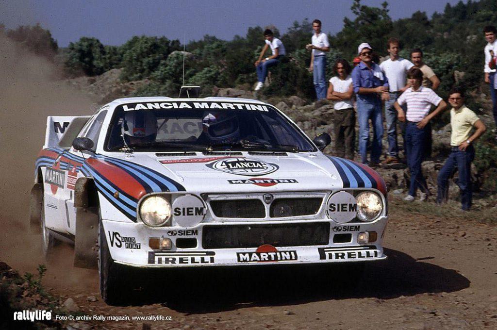 Ралли Санремо 1983 - Маркку Ален - Иллка Кивимаки - Lancia Rally 037
