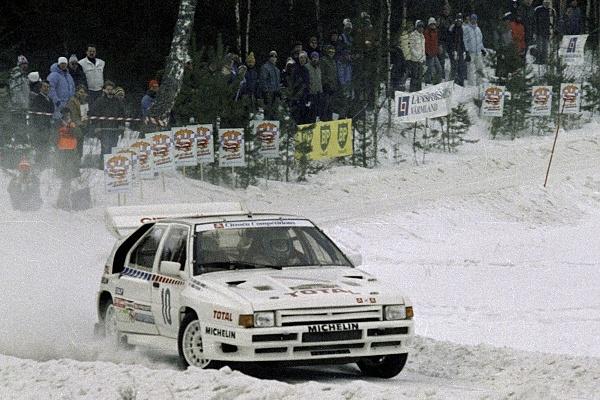 Ралли Швеции 1986 -Жан-Клод Андре - Ситроен