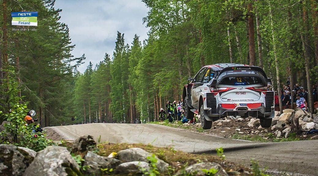 Ралли Финляндии 2017 - Эсапекка Лаппи - Тойота